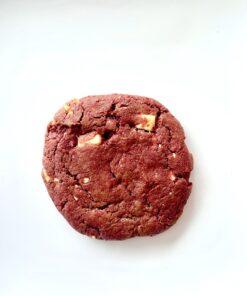 Red Velvet & White Chocolate Chip Koekje