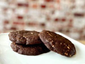 Chocolate & white chocolate chip Koekje